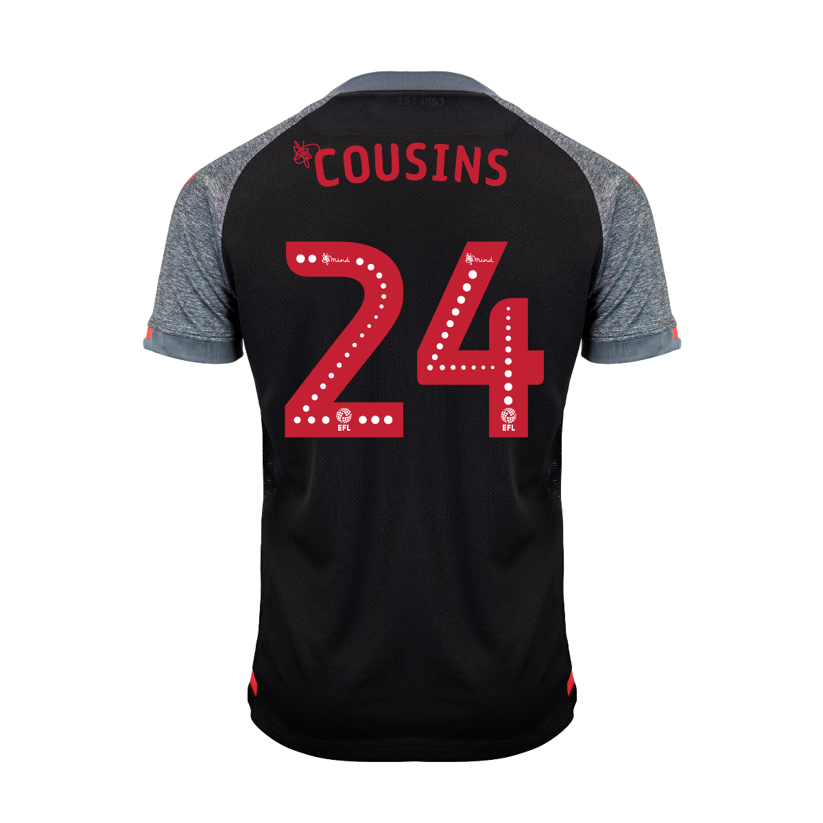 2019/20 Junior Away SS Shirt - Cousins