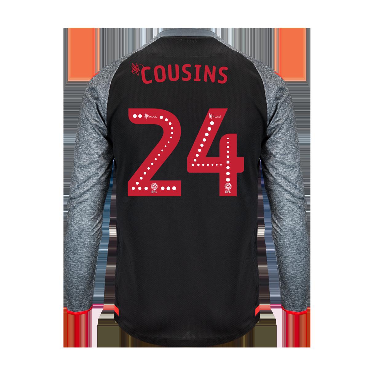 2019/20 Junior Away LS Shirt - Cousins