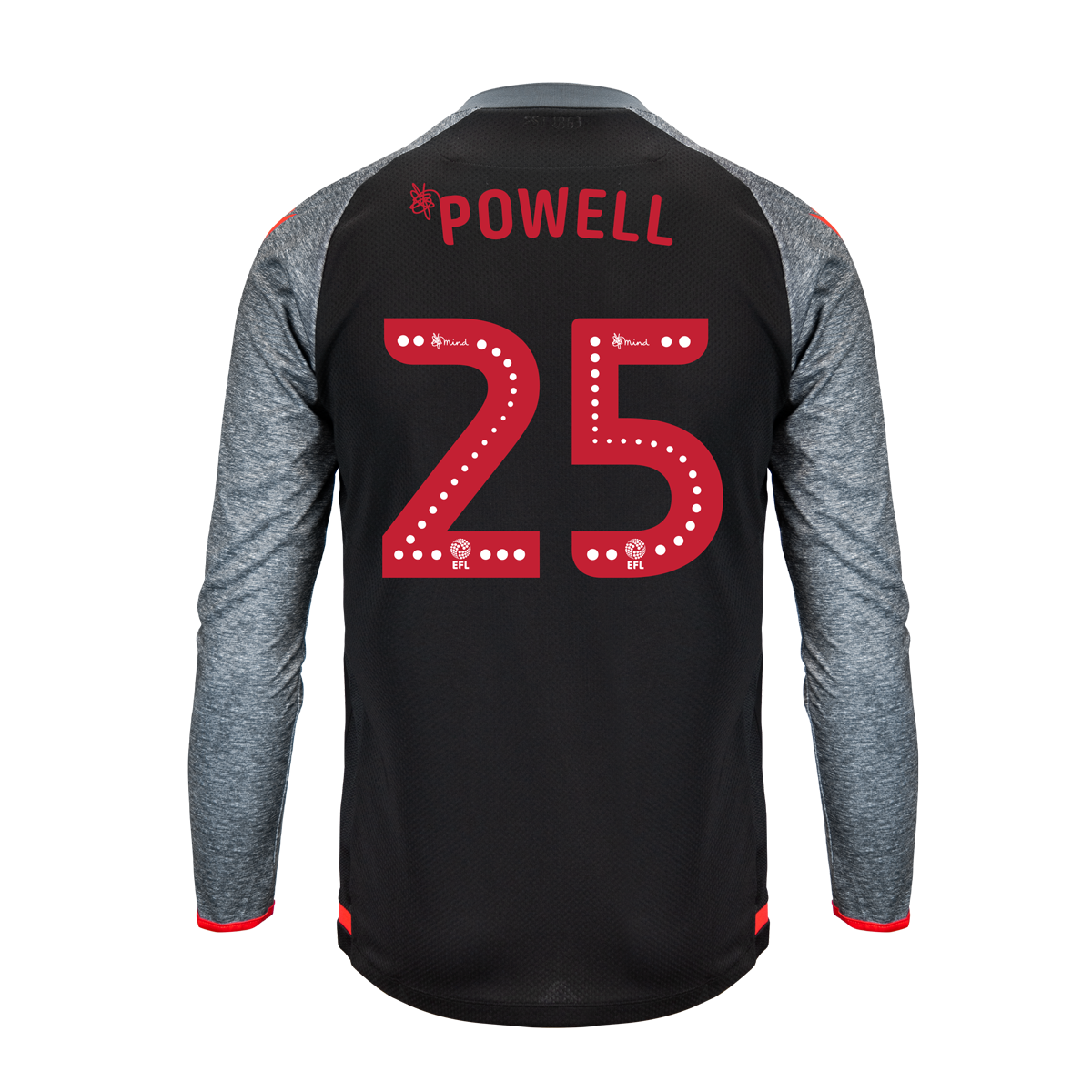 2019/20 Junior Away LS Shirt - Powell