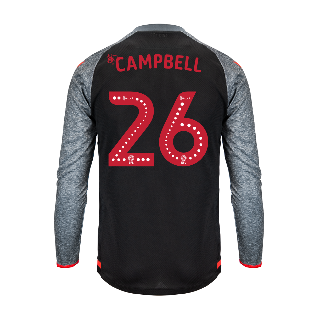 2019/20 Junior Away LS Shirt - Campbell