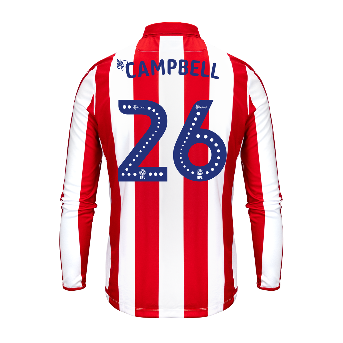 2019/20 Adult Home LS Shirt - Campbell