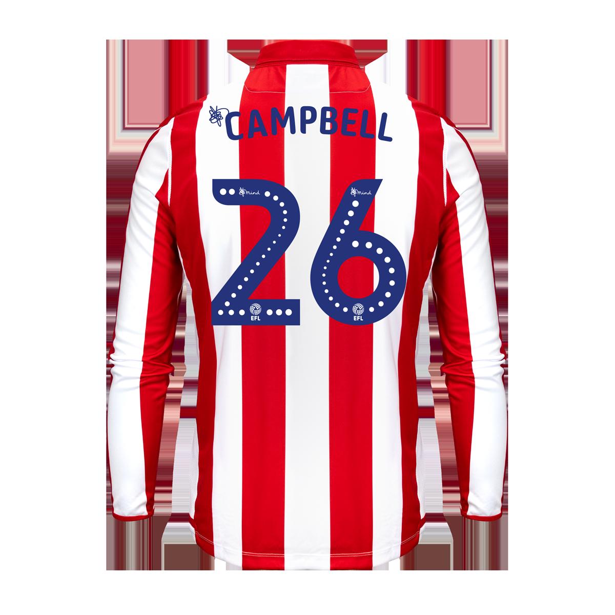 2019/20 Junior Home LS Shirt - Campbell