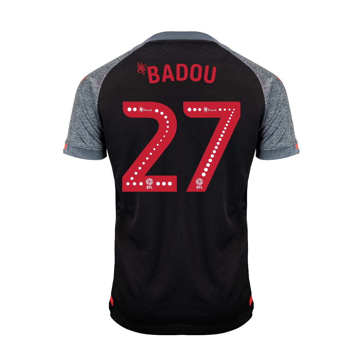 2019/20 Junior Away SS Shirt - Badou
