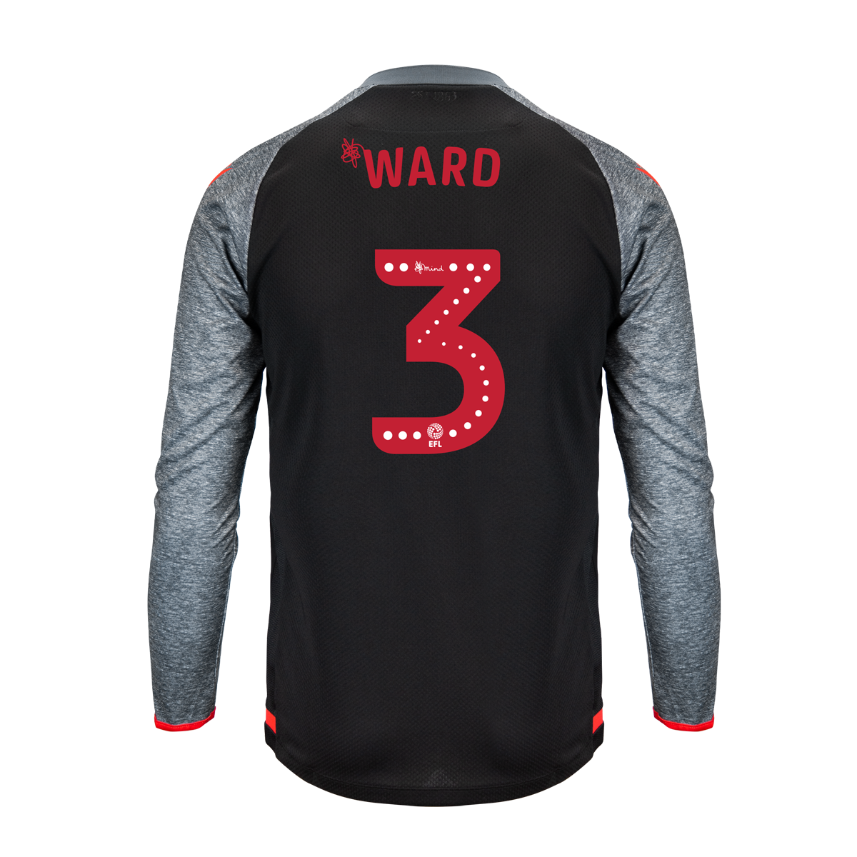 2019/20 Junior Away LS Shirt - Ward