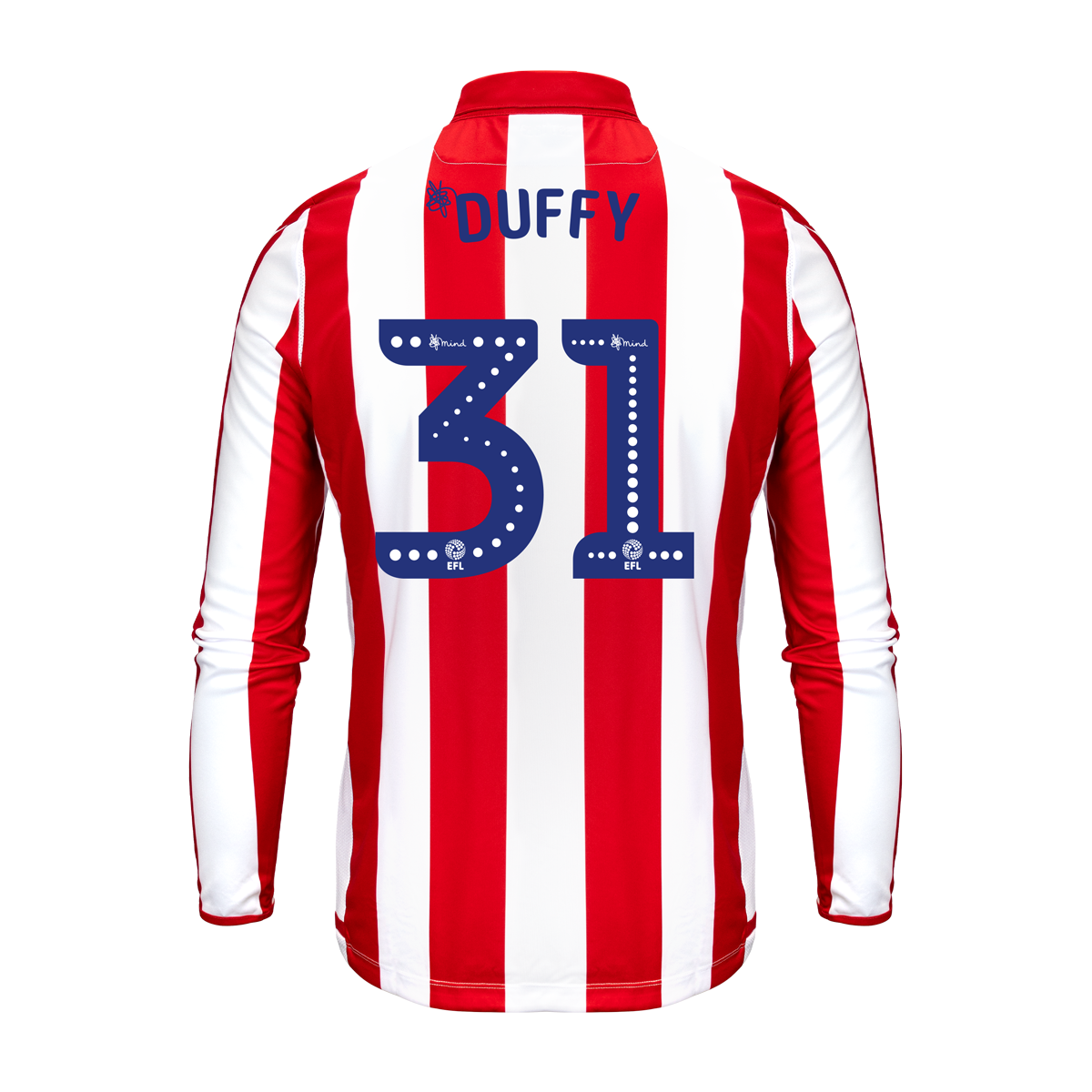 2019/20 Junior Home LS Shirt - Duffy