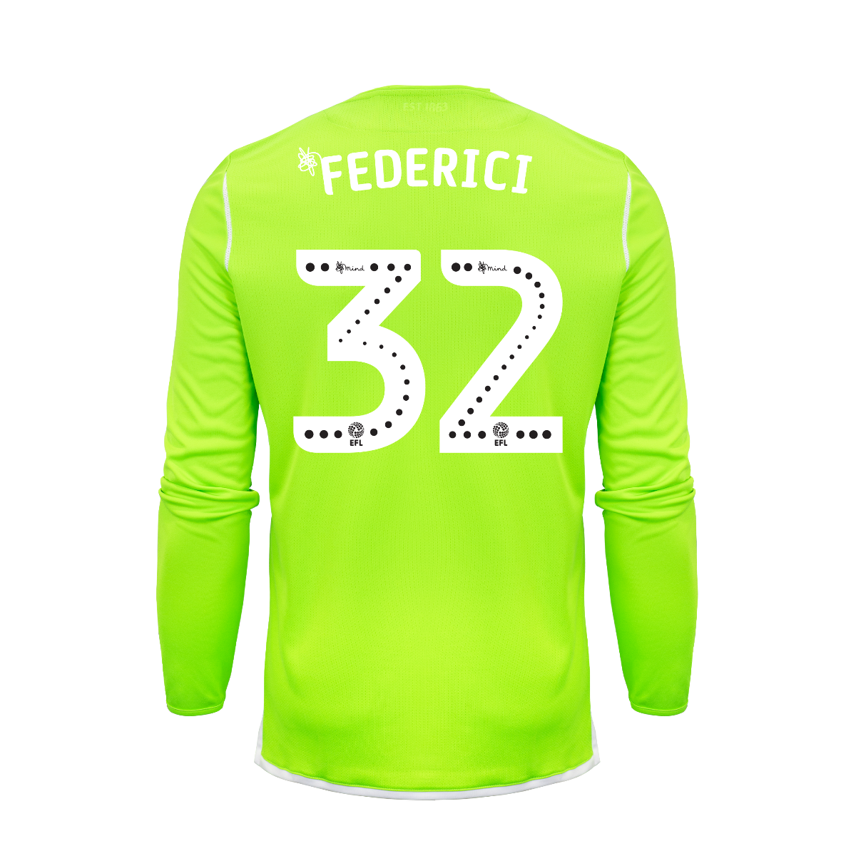 2019/20 Adult Home GK Shirt - Federici