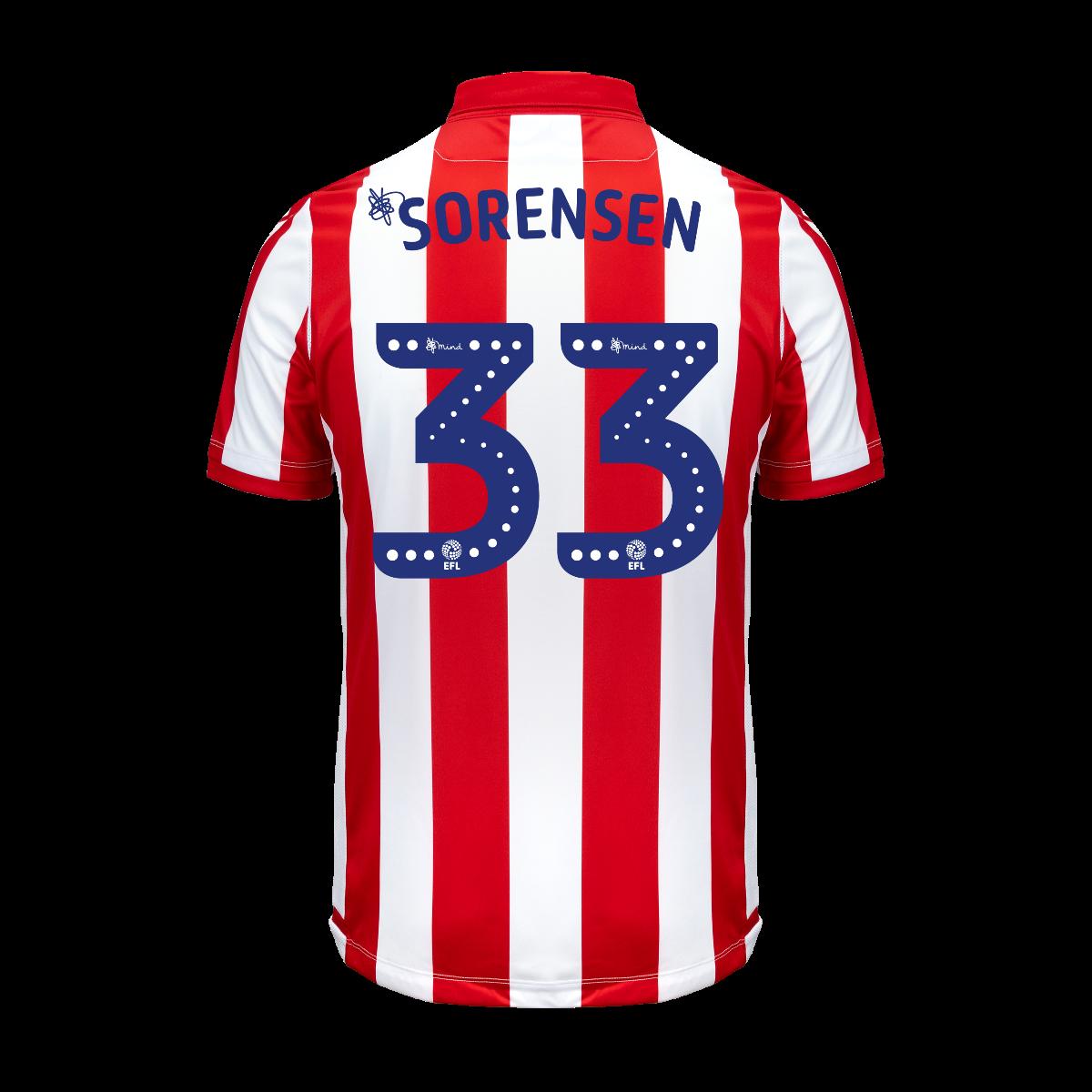 2019/20 Junior Home SS Shirt - Sorensen