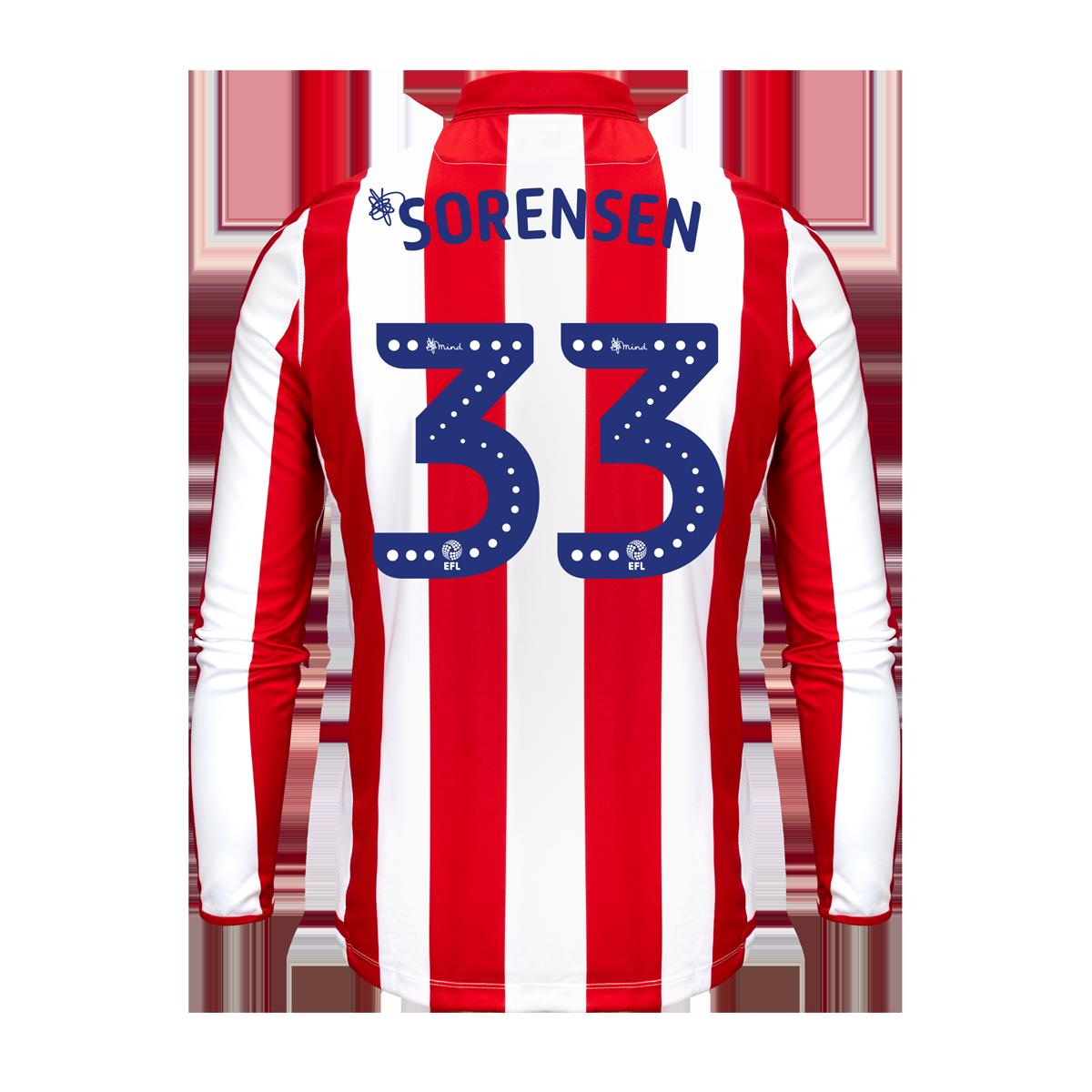 2019/20 Junior Home LS Shirt - Sorensen