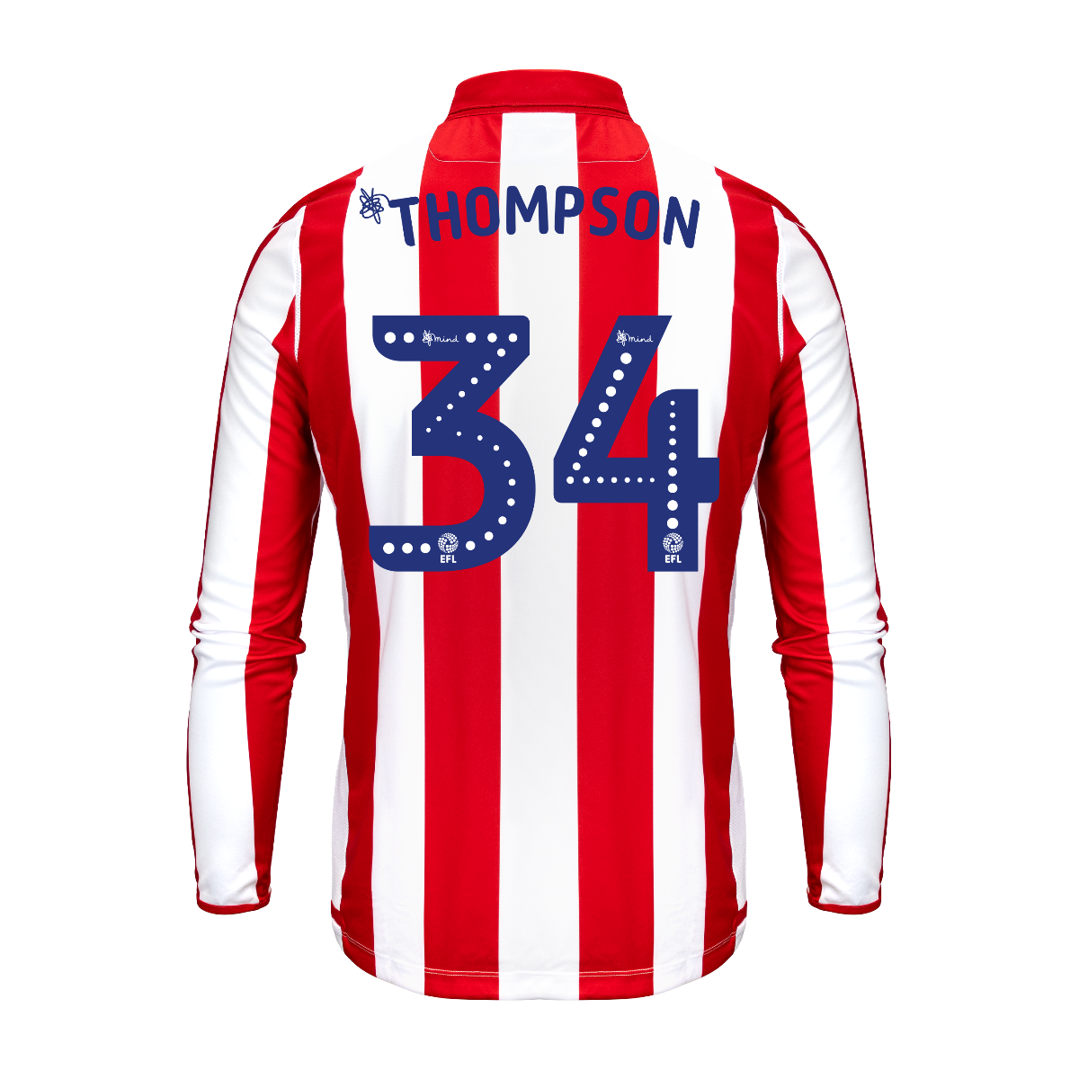 2019/20 Adult Home LS Shirt - Thompson