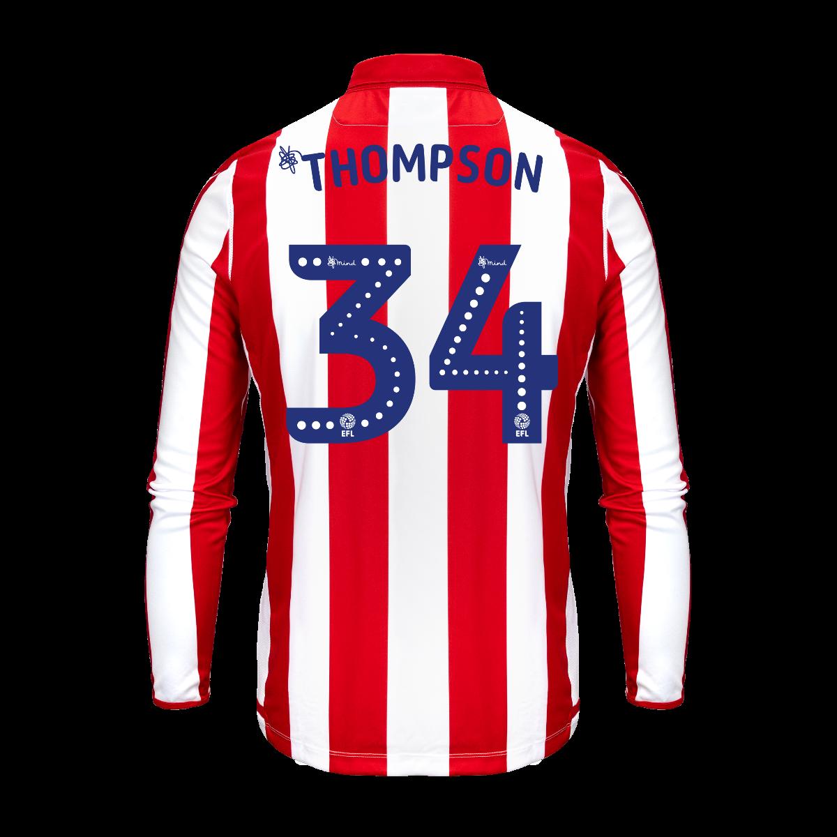2019/20 Junior Home LS Shirt - Thompson