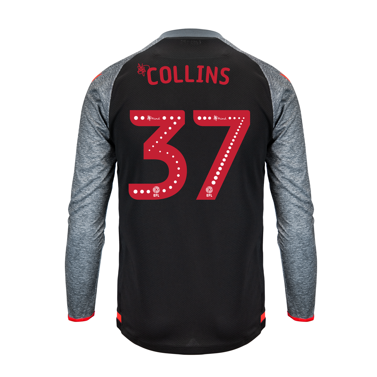 2019/20 Junior Away LS Shirt - Collins