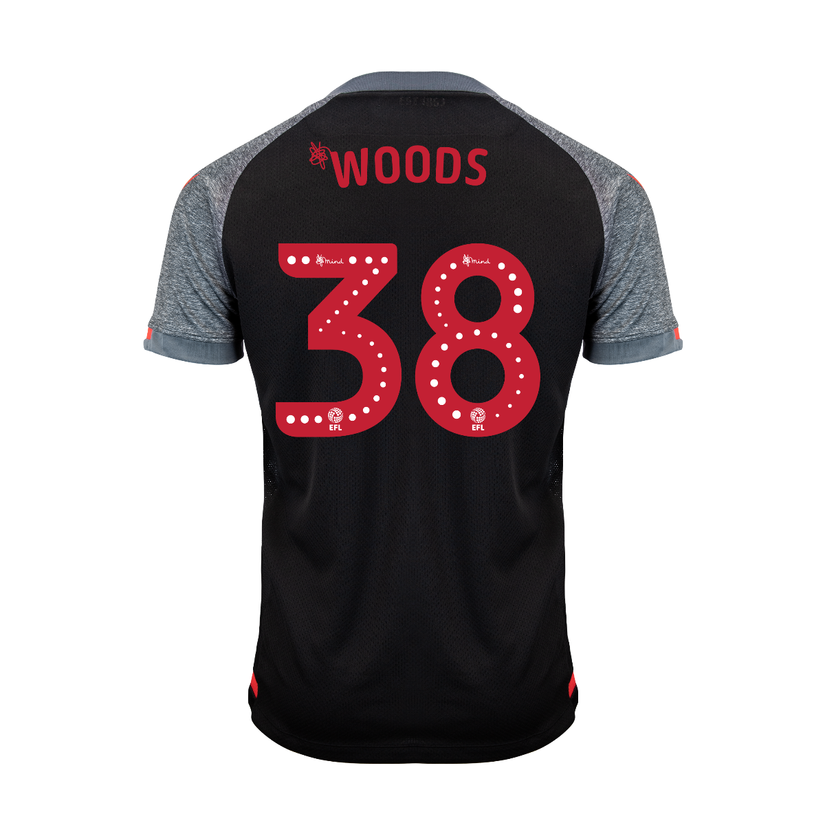 2019/20 Junior Away SS Shirt - Woods