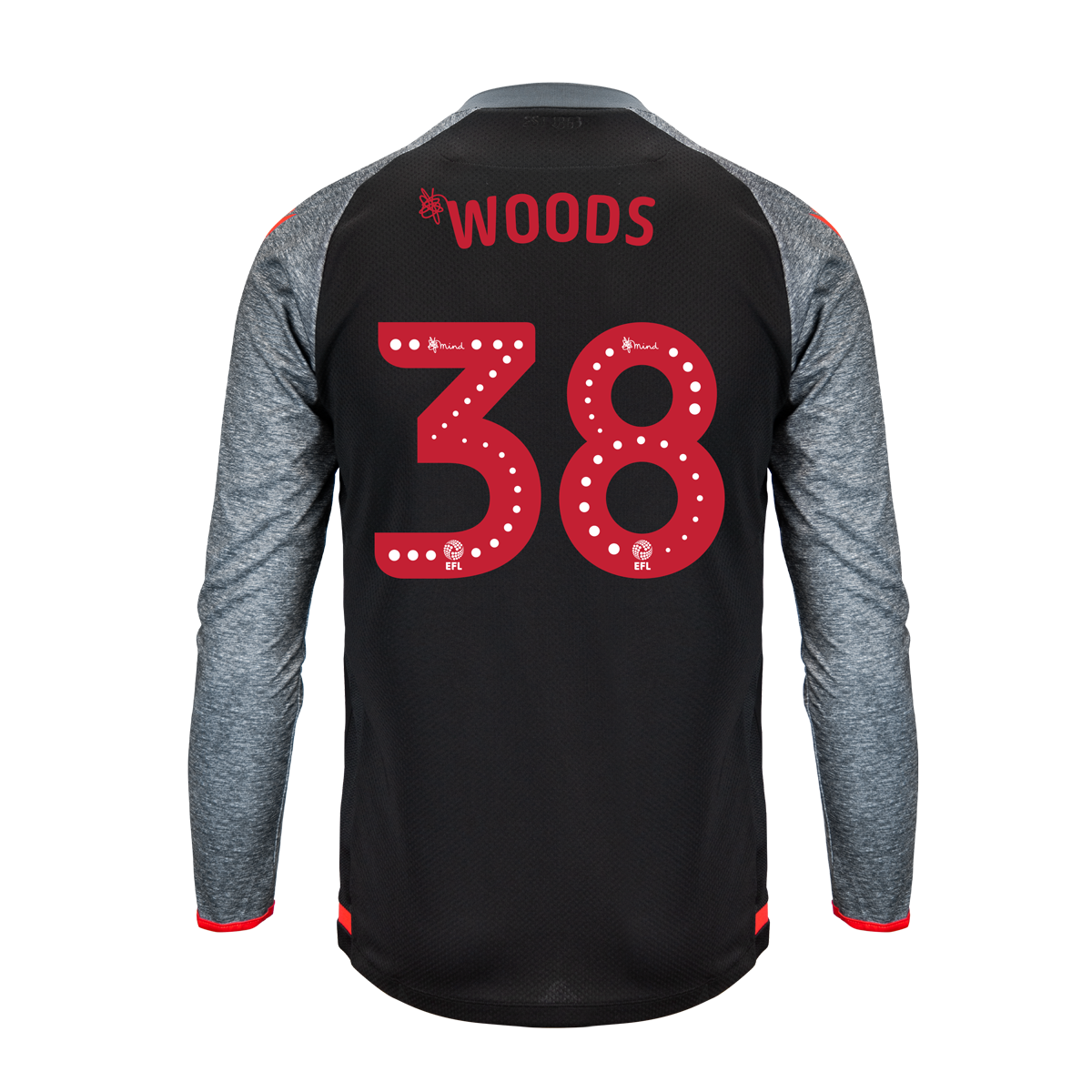 2019/20 Junior Away LS Shirt - Woods