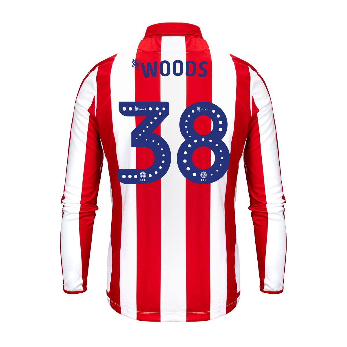 2019/20 Adult Home LS Shirt - Woods