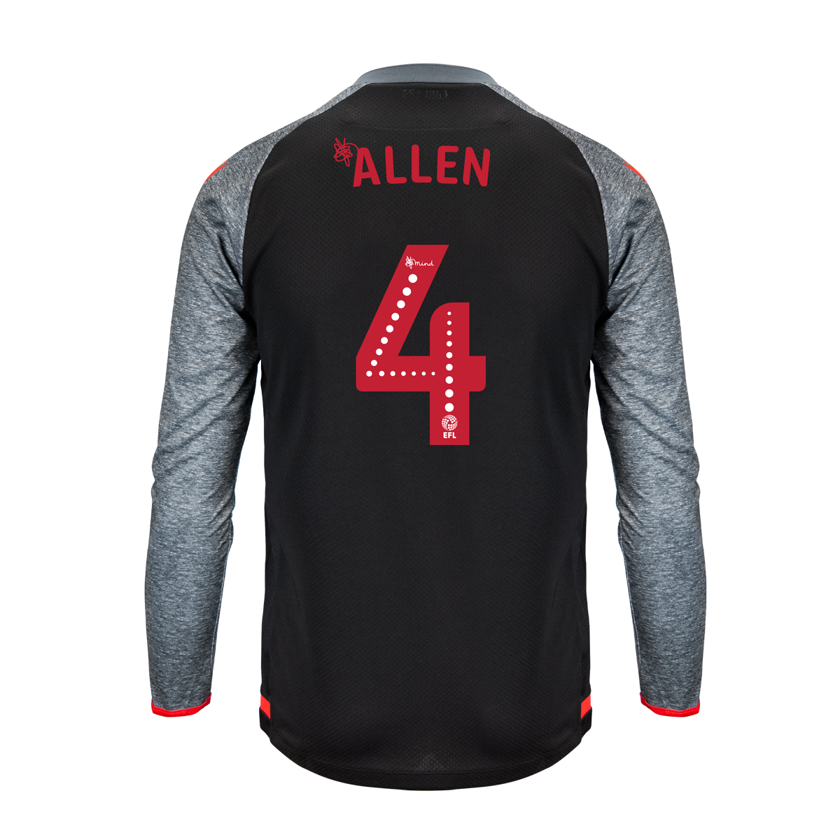 2019/20 Junior Away LS Shirt - Allen