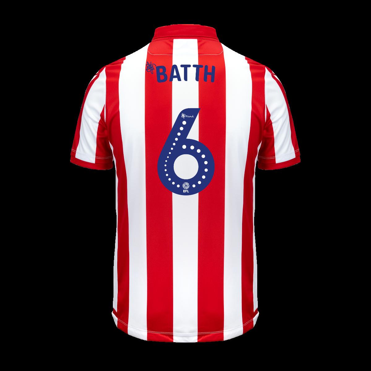 2019/20 Junior Home SS Shirt - Batth