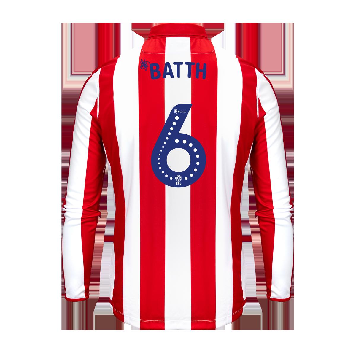 2019/20 Adult Home LS Shirt - Batth