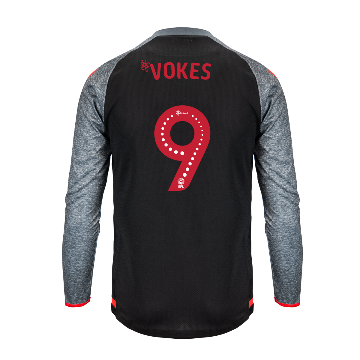2019/20 Junior Away LS Shirt - Vokes