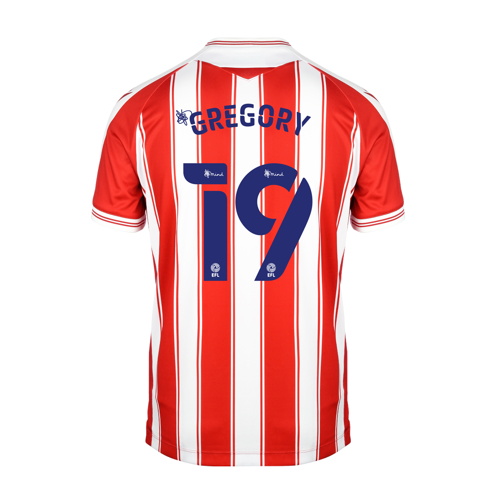 2020/21 Adult Home SS Shirt - Gregory