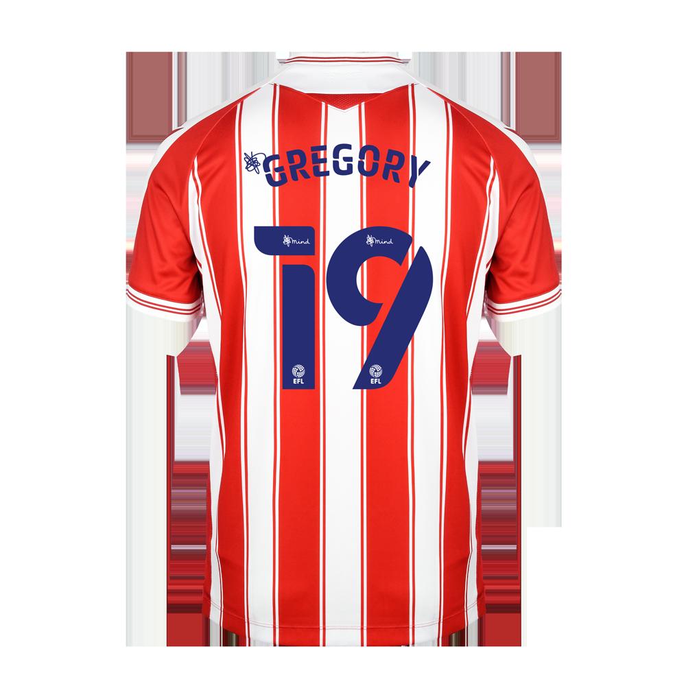 2020/21 Junior Home SS Shirt - Gregory