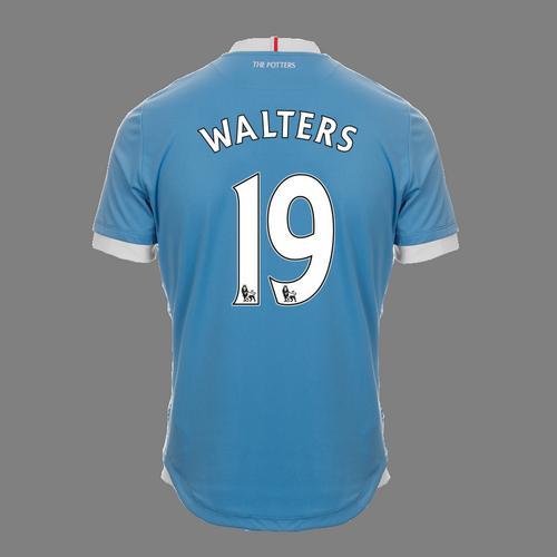 2016-17 Adult Away SS Shirt - Walters