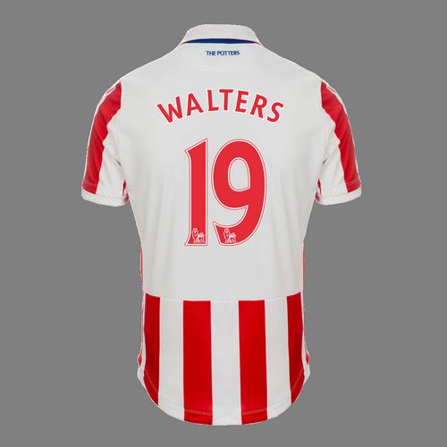 2016-17 Junior Home SS Shirt - Walters