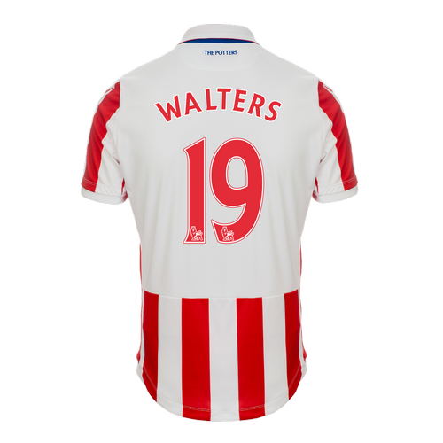 2016-17 Ladies Fit SS Home Shirt - Walters