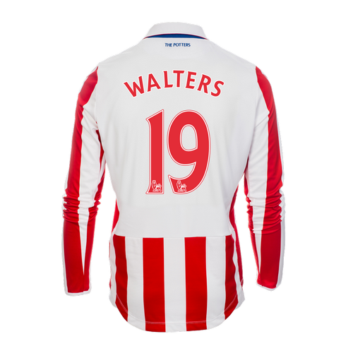 2016-17 Adult Home LS Shirt - Walters