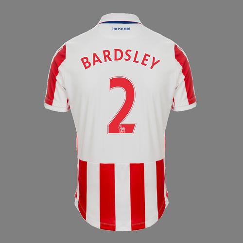 2016-17 Adult Home SS Shirt - Bardsley