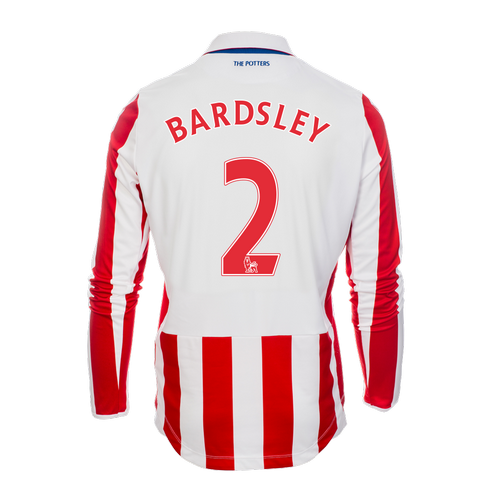 2016-17 Adult Home LS Shirt - Bardsley