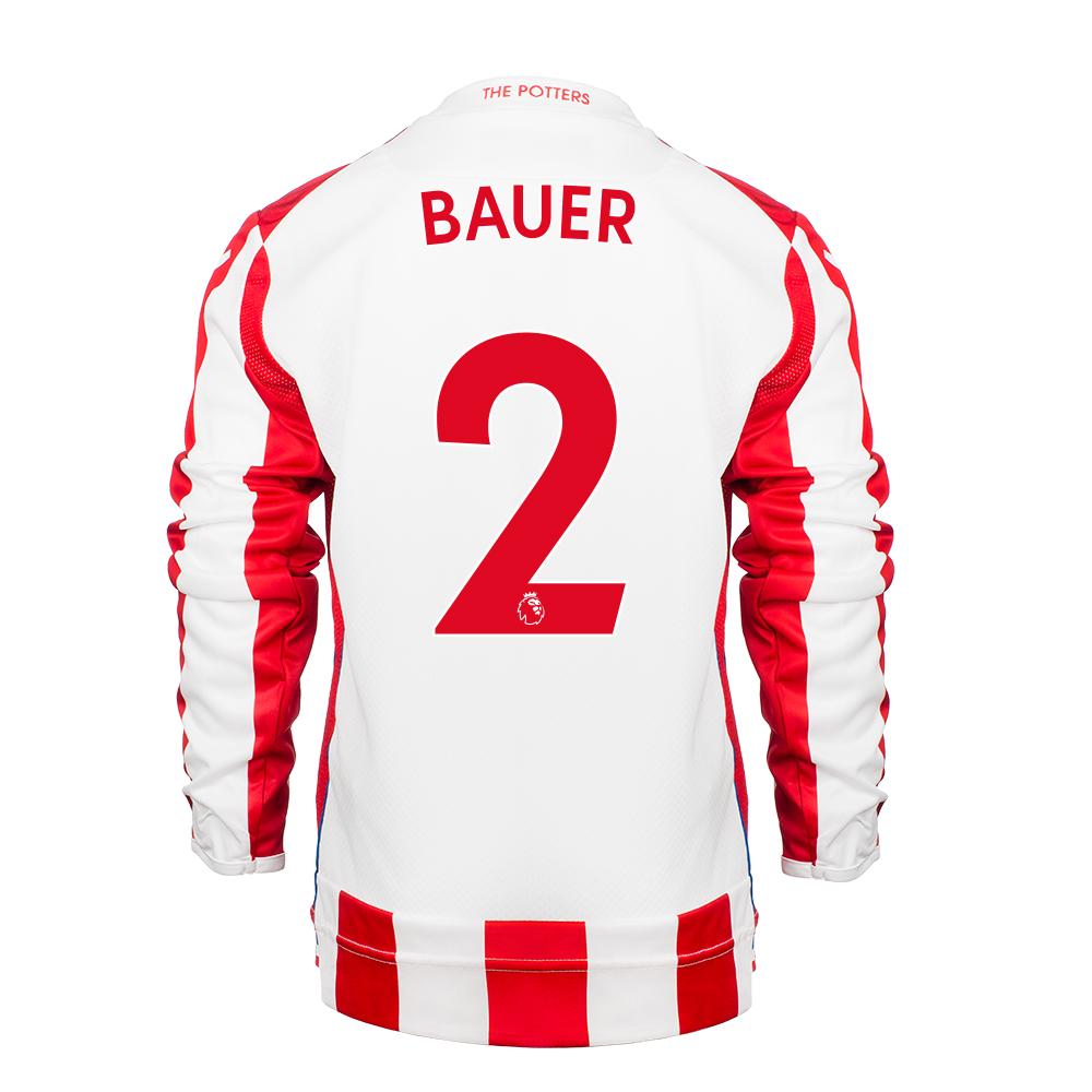2017/18 Junior Home LS Shirt - Bauer