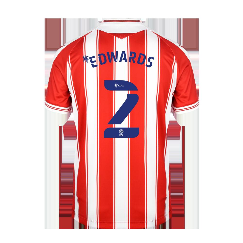 2020/21 Junior Home SS Shirt - Edwards