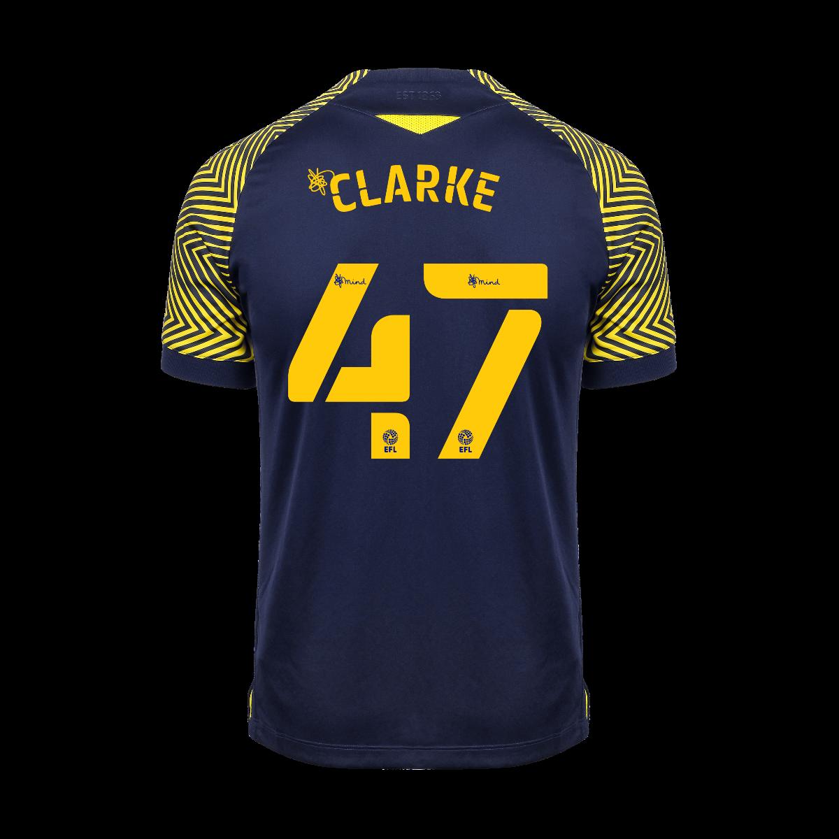 2020/21 Adult Away SS Shirt - Clarke