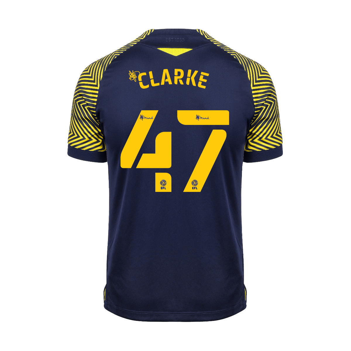 2020/21 Ladies Fit Away Shirt - Clarke