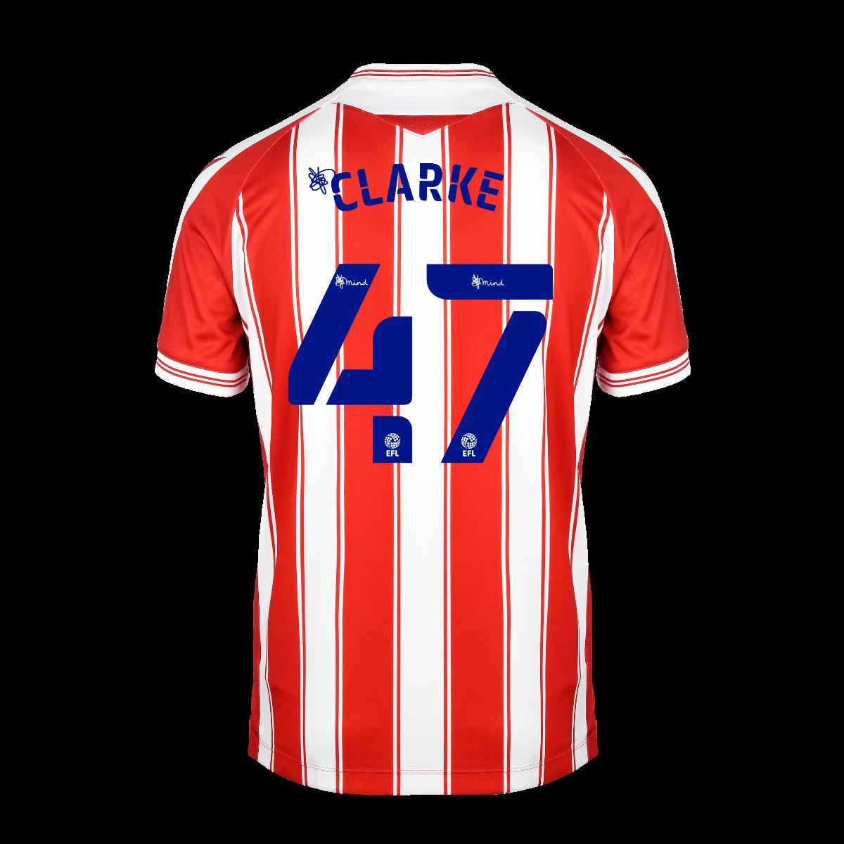 2020/21 Adult Home SS Shirt - Clarke