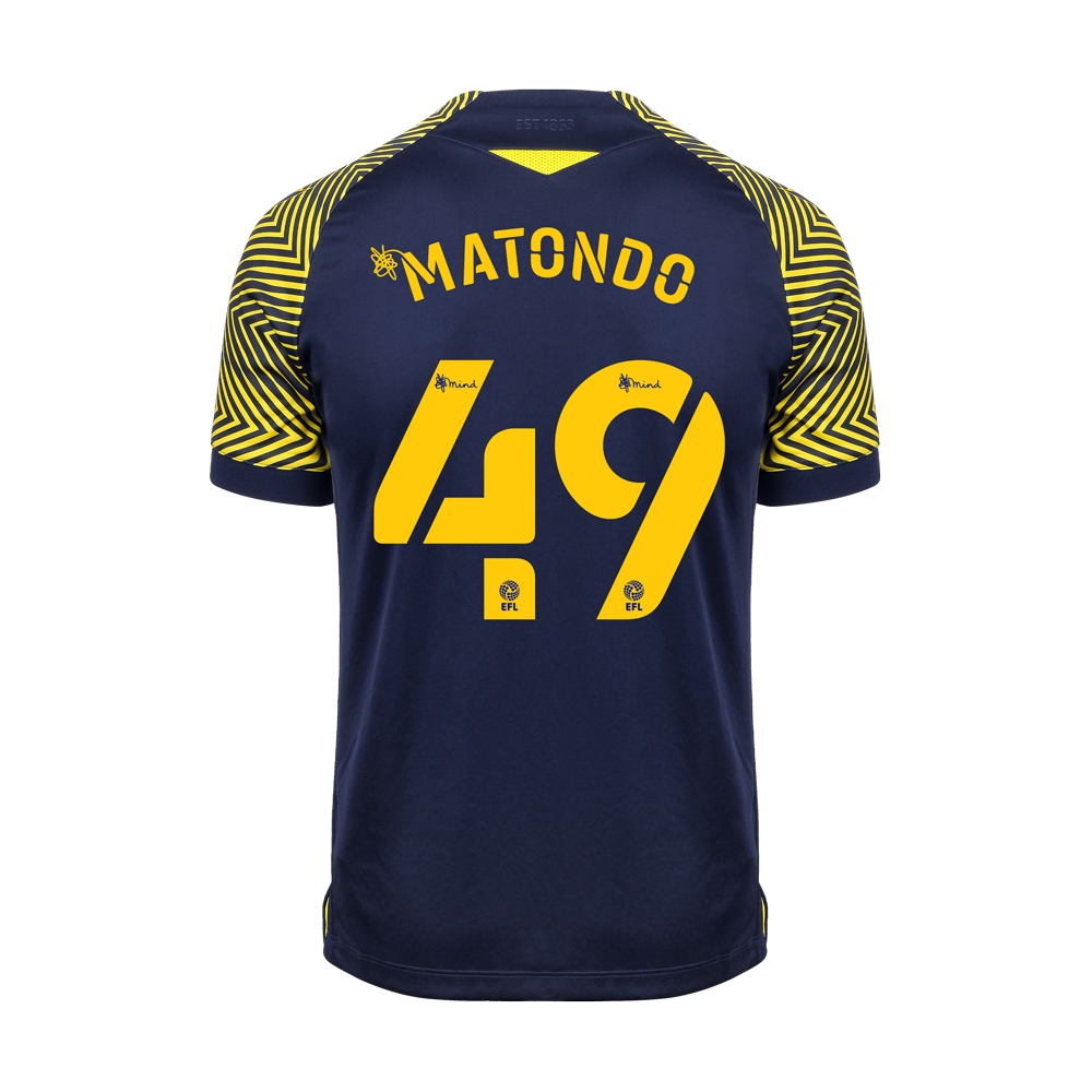 2020/21 Adult Away SS Shirt - Matondo