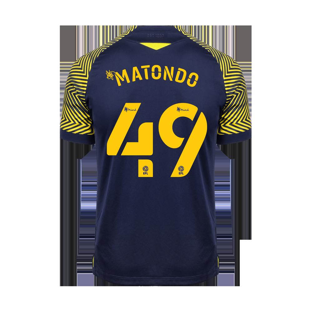 2020/21 Junior Away SS Shirt - Matondo