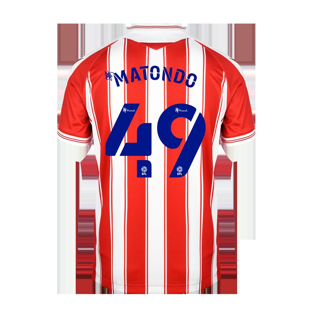 2020/21 Junior Home SS Shirt - Matondo