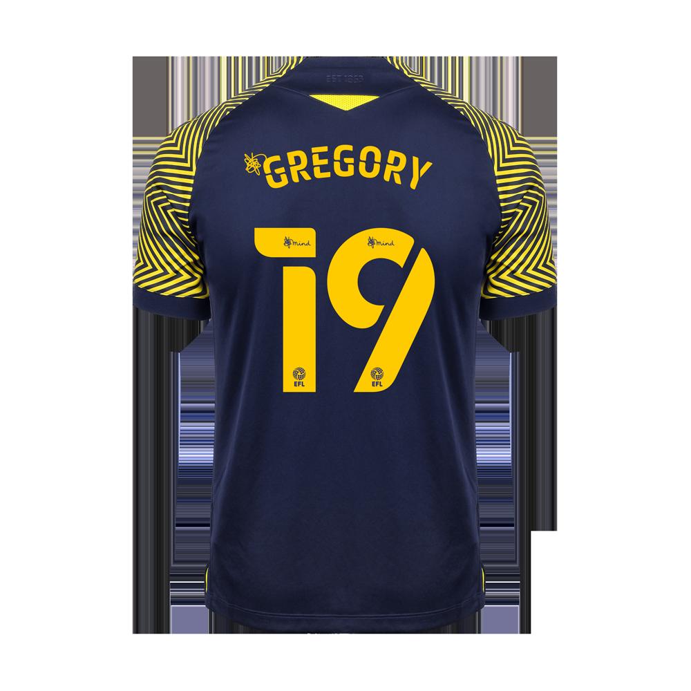 2020/21 Adult Away SS Shirt - Gregory