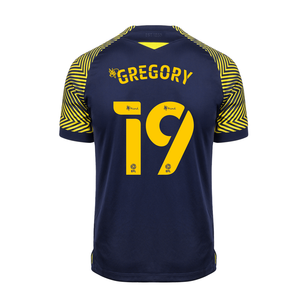 2020/21 Ladies Fit Away Shirt - Gregory