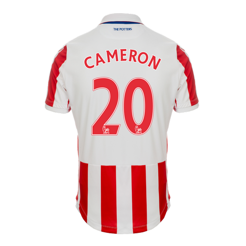 2016-17 Junior Home SS Shirt - Cameron