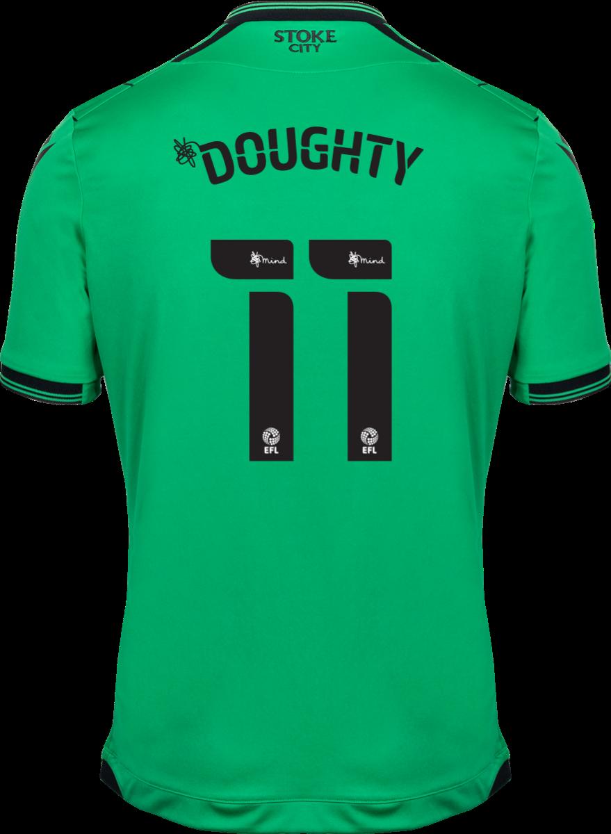 2021/22 Unsponsored Adult Away SS Shirt - Doughty