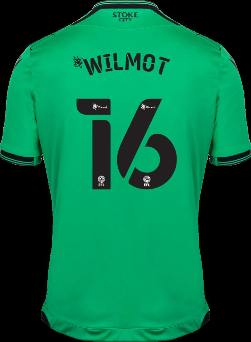 2021/22 Unsponsored Adult Away SS Shirt - Wilmot