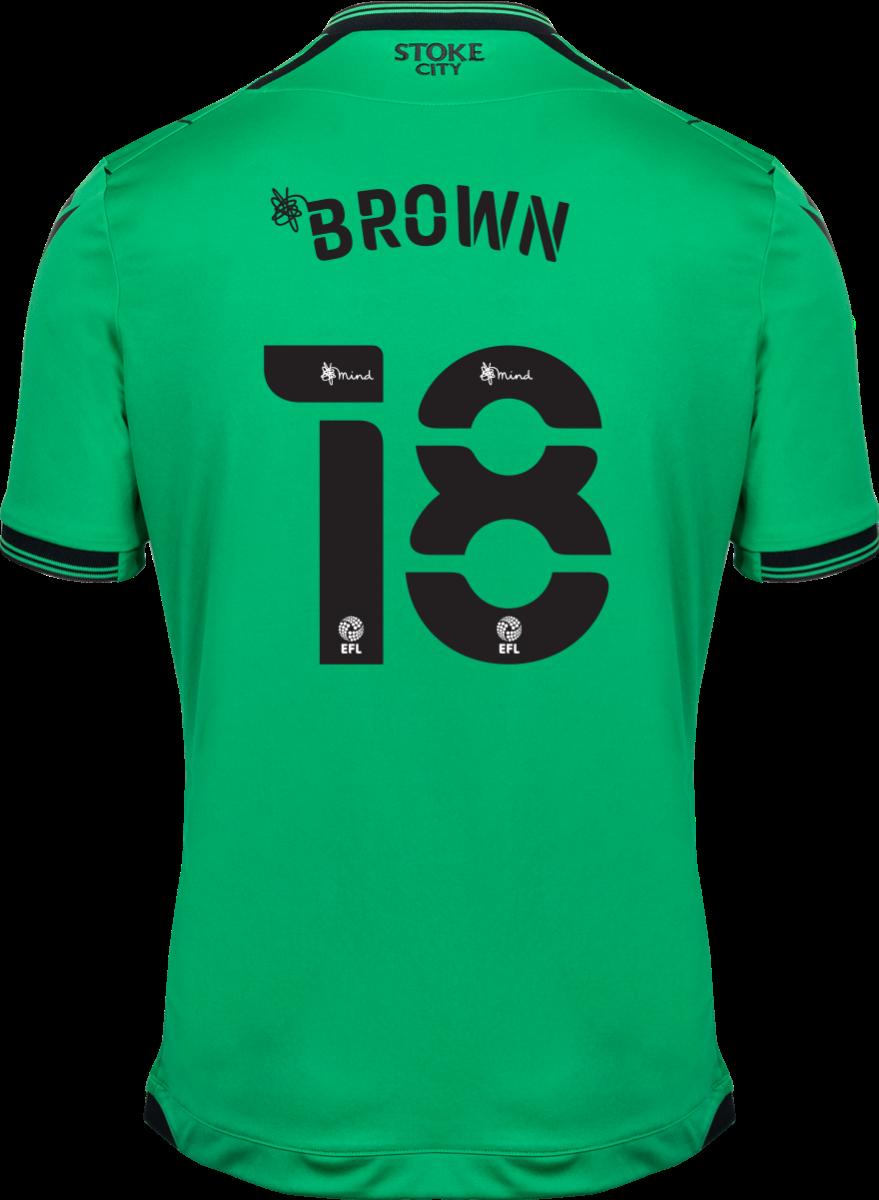 2021/22 Unsponsored Adult Away SS Shirt - Brown