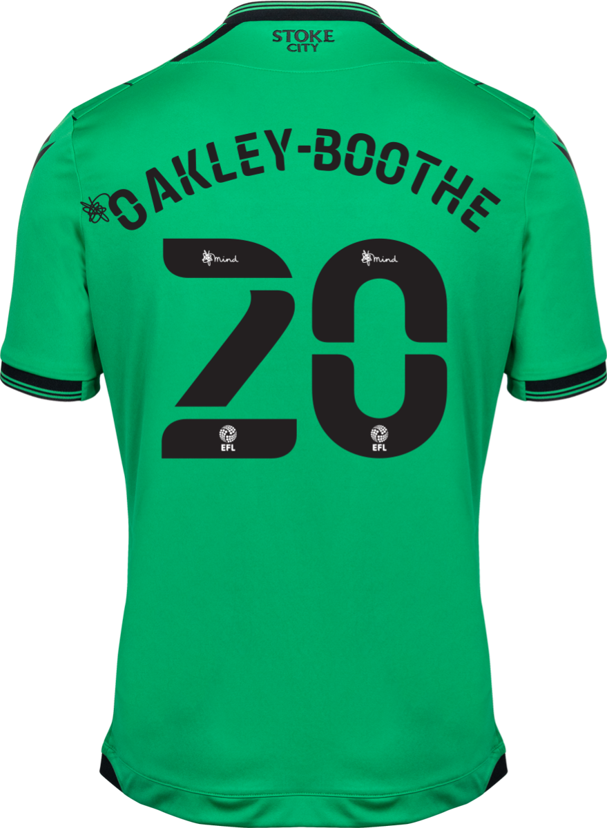 2021/22 Unsponsored Adult Away SS Shirt - Oakley-Boothe