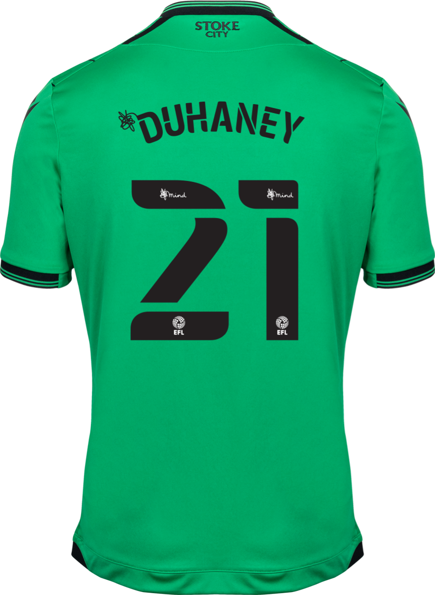 2021/22 Unsponsored Adult Away SS Shirt - Duhaney