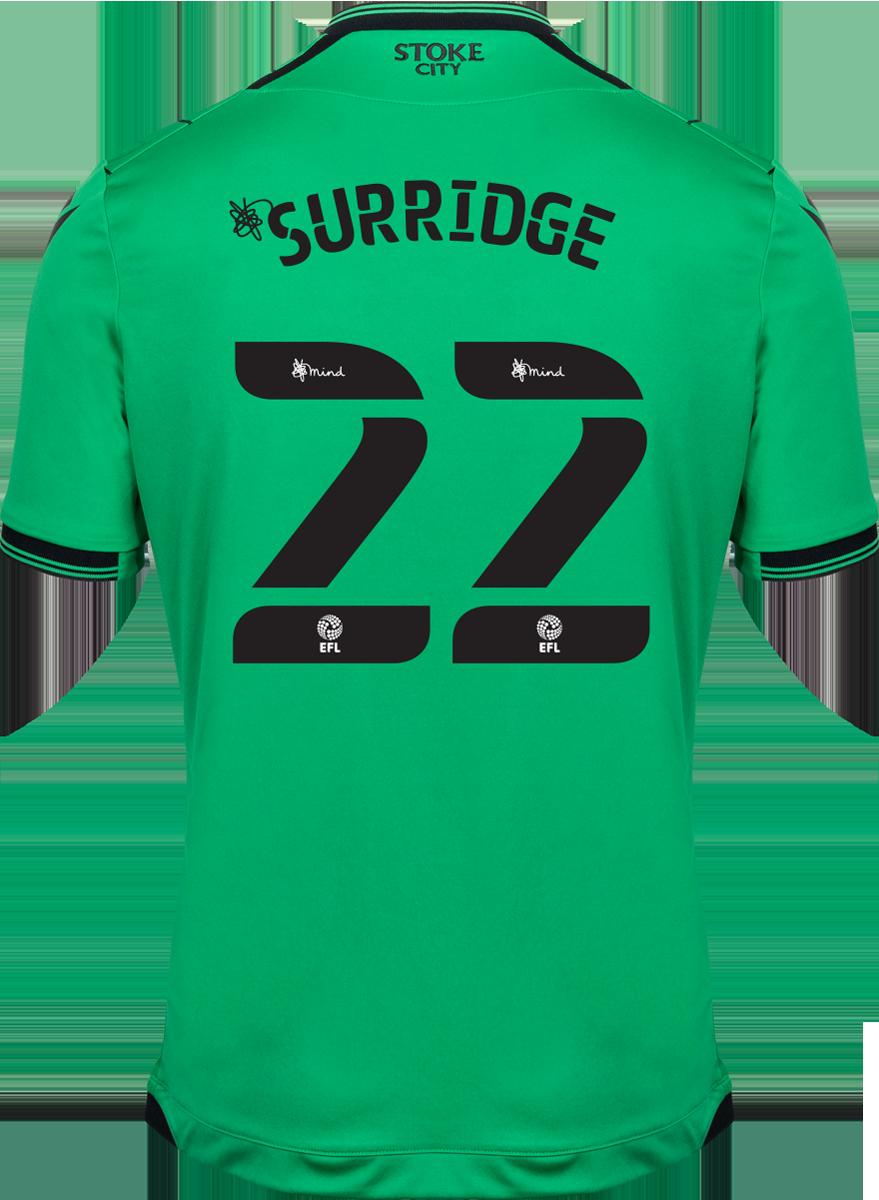 2021/22 Unsponsored Adult Away SS Shirt - Surridge