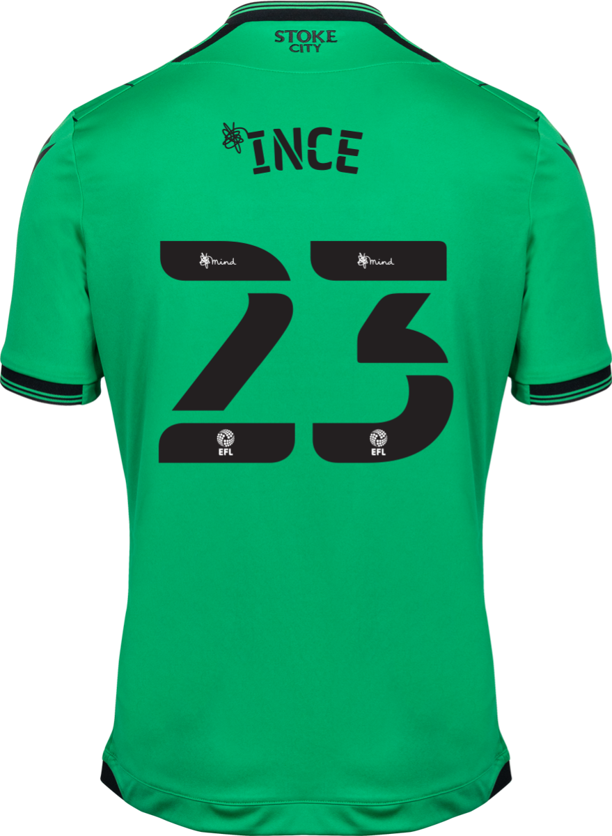 2021/22 Unsponsored Adult Away SS Shirt - Ince