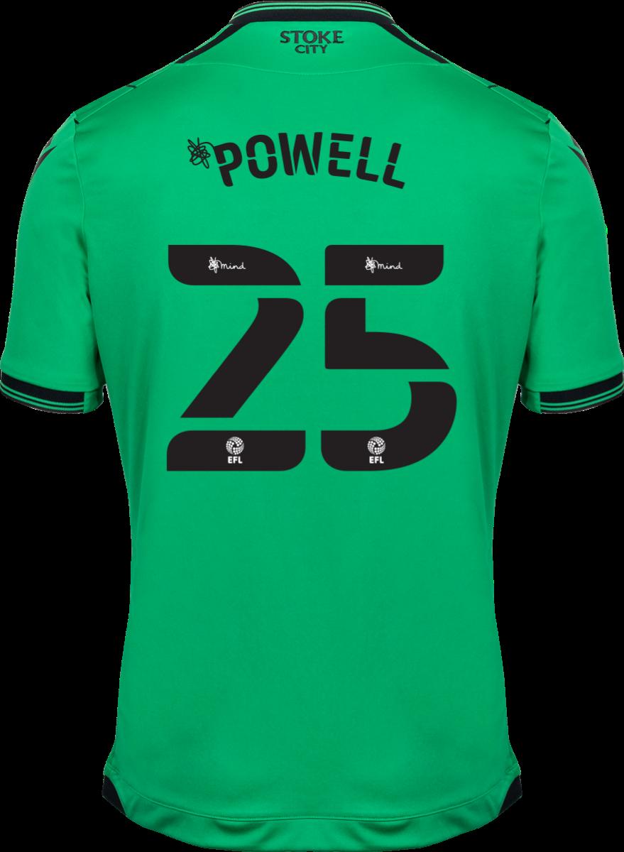 2021/22 Unsponsored Adult Away SS Shirt - Powell