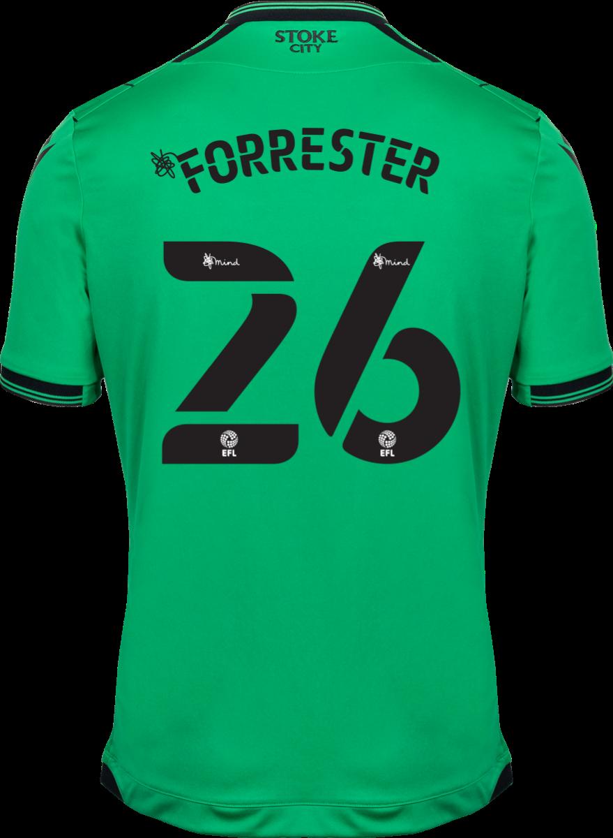 2021/22 Adult Away SS Shirt - Forrester